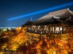 Kiyomizu-Dera Temple in the Fall (located about 15 min away)