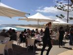 The White Elephant Beach cafe at Prevelly Beach
