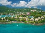 Pristine snorkeling steps from your elegant Caribbean suite! Gallows Point Resort, Suite St. John