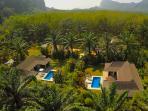 3 villas in one gated complex providing total privacy