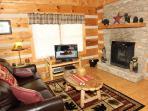 Living Room at Bearfoot Crossing