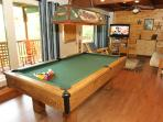 Game Room at Bushwood Lodge