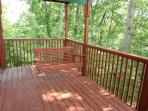 Deck at Bushwood Lodge