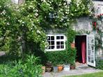 Flaming June and everyones' idea of an English Country Cottage