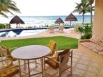 Can't beat the view and proximity to pool/ beach! (We have new patio furniture since picture taken.)
