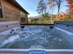 Hot Tub at Cabin On The Hill