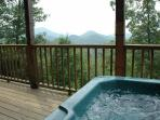 Hot Tub at A View To A Thrill