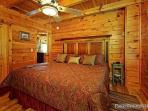 Main Floor Bedroom at Logged Out
