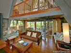 Living Room with Balcony Overlook at Terrace Garden Manor