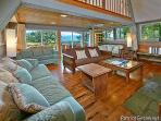 Living Room with Two Futons at Terrace Garden Manor