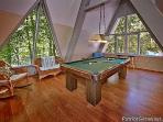 Game Room with Pool Table at Terrace Garden Manor