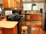 Kitchen with Stainless Steel Appliances at Terrace Garden Manor