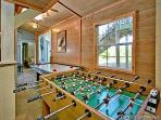 Game Room with Foosball Table at Terrace Garden Manor