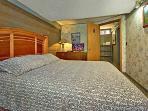Queen Size Bedroom at Terrace Garden Manor