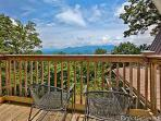Upper Deck with Chairs and View at Terrace Garden Manor