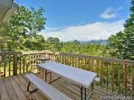 Picnic Table on Deck at Terrace Garden Manor