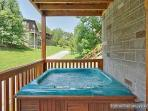 Hot Tub at Alpine Tranquility