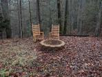 Outdoor Firepit at A Great Escape