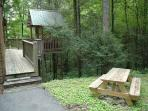 Picnic Table at A Great Escape