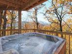 Outdoor Hot Tub at A Finders Keepers