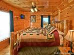 First Floor Bedroom with King Bed at Tree Top Lodge
