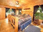 Bedroom at 2 Lovin' Bears