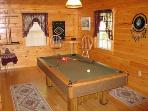 Pool Table at Dream Catcher