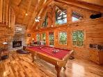 Pool Table at Always & Forever