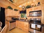 Kitchen at Honey Bear Haven