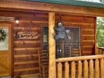 Entrance at Honey Bear Haven