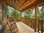 Deck at Honey Bear Haven