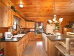 Kitchen Area at Mountain Memories