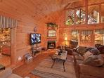 Living Room at Almost Heaven
