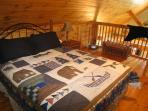 Lofted Bedroom at Appalachian Attitude