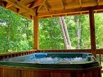 Hot Tub at A Place To Remember