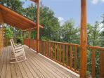 Deck at Log Wild!