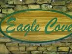 Eagle Cove Resort Sign