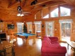 Living Room at Bear Heaven