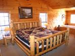 Bedroom at Bear Heaven