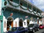 Duty free shops at Charlotte Amalie