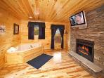 Master Bedroom at Big Bear Falls