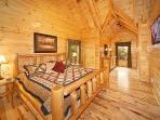Second Floor Bedroom at Big Bear Falls