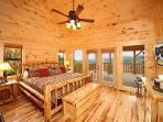 Main Floor Bedroom at Don't Blink!