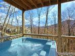 Hot Tub at Alpine Pointe