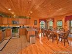 Kitchen at Elk Horn Lodge
