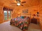 Third Floor Bedroom at Elk Horn Lodge