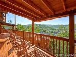 Deck at Elk Horn Lodge