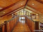 Upstairs Balcony at Making Memories Lodge