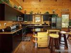 Kitchen and Bar Area at Making Memories Lodge