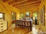 Third Floor King Bedroom at Making Memories Lodge